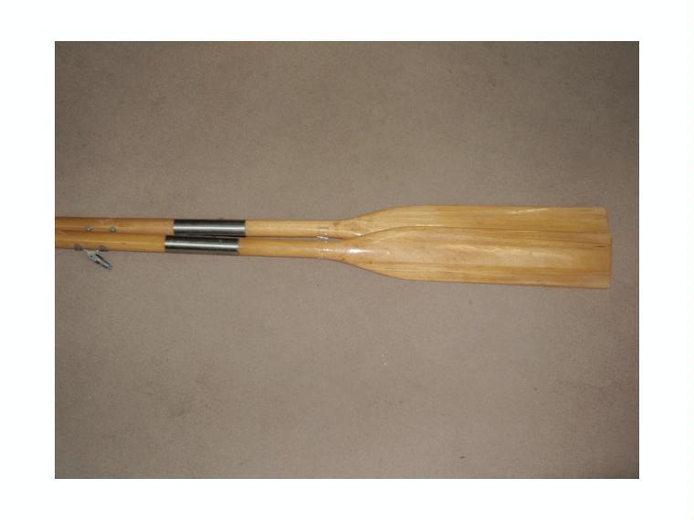 Remos madera plegable pareja 1 50cm de segunda mano for Madera para tejados de segunda mano