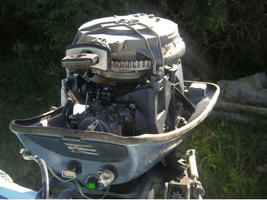 Motor Evinrude 18 cv.  Ocasión. Motores