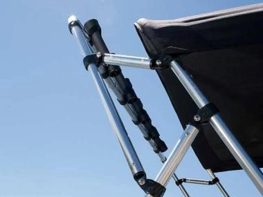 Portacañas para toldo bimini Barco de pesca