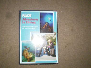 BOOK PADI ADVENTURES IN DIVING  ITALIAN EDITION Submarinismo