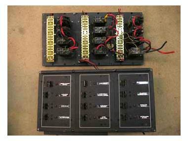 PANEL ARRANQUE GENERADOR NORTHEN LIGHTS 12 V Electricidad