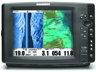 GPS PLOTTER SONDA HUMMINBIRD 1198 SI COMBO Electrônica