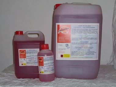 Jabón de Baldeo polonautic.es 25 litros Equipo cubierta