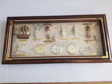 Cuadro de nudos de marineros con instrumentos 54 x 25cm Varios/Decor/Libros
