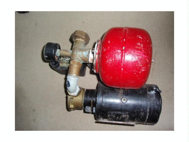 Bomba presion agua con deposito vetus presos de segunda - Bombas de extraccion de agua ...