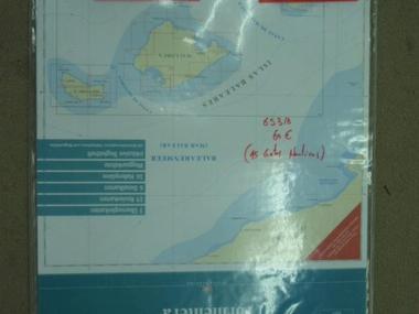 PACK CARTAS NAUTICAS ISLAS BALEARES Navegación