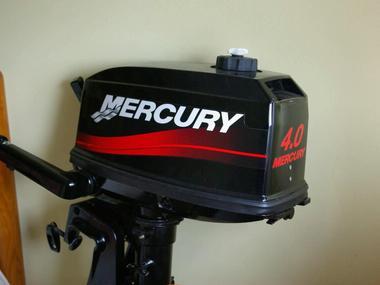 Motor  Mercury de 4 Hp Motores