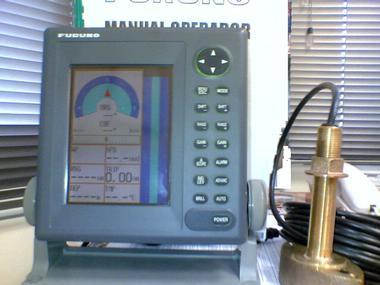 SONDA FURUNO FCV 600 L +TRANSDUCTOR + CABLE Electrônica