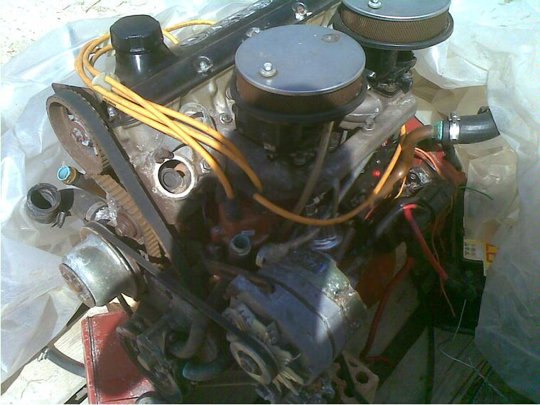 volvo penta b230 135cv 4 cilindros  despiece  de segunda