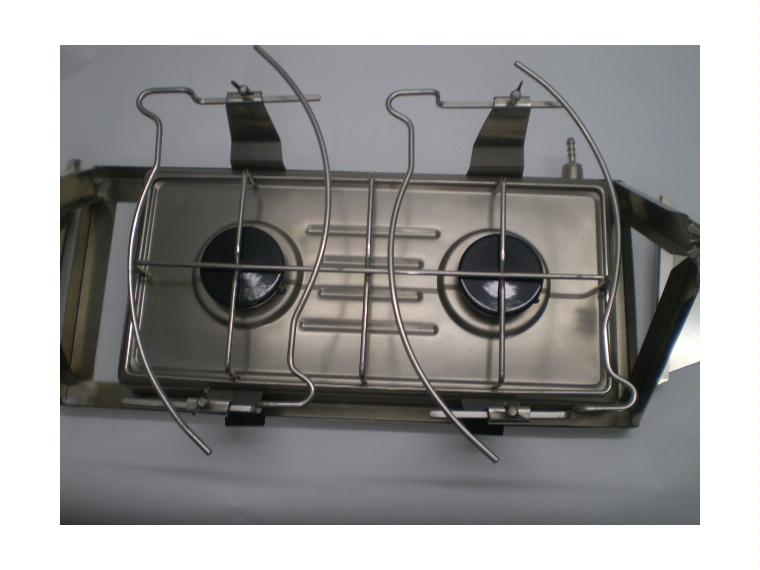 Cocina a gas de dos fuegos para velero confort a bordo for Cocina de gas de dos fuegos