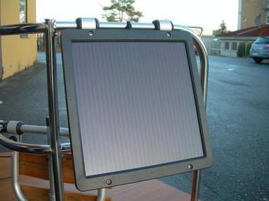 Panel ultrafino 12V/ 5  Watios Electricidad
