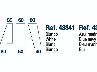 Sabana Bajera Ajustable Mod.E 190x60x60cm Marine Business Confort a bordo