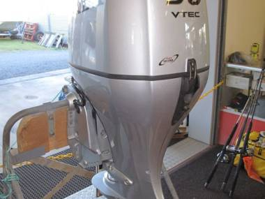 2017 Used Honda 90HP 4-Stroke Outboard Motor Engine Motores