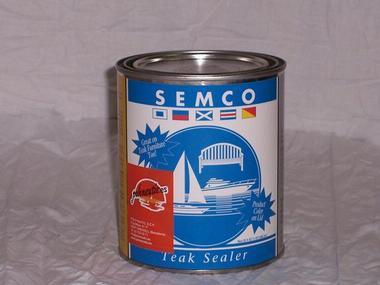 Sellador de teca Semco 1/4 de Galón Equipo cubierta