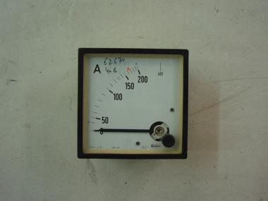 INDICADOR AMPERIMETRO CROMPTON 200 Electricidad