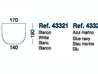 Sabana Bajera Ajustable Mod.C 190x170x140cm Marine Business Confort a bordo