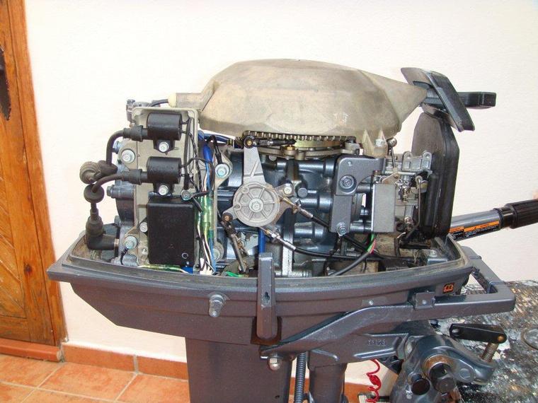 motor yamaha 25 cv 2t de segunda mano 70705
