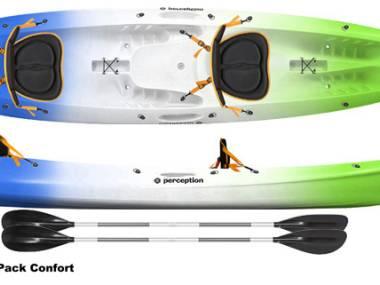 Kayak Sit on top Perception Gemini 2 Kayaks/Piraguas
