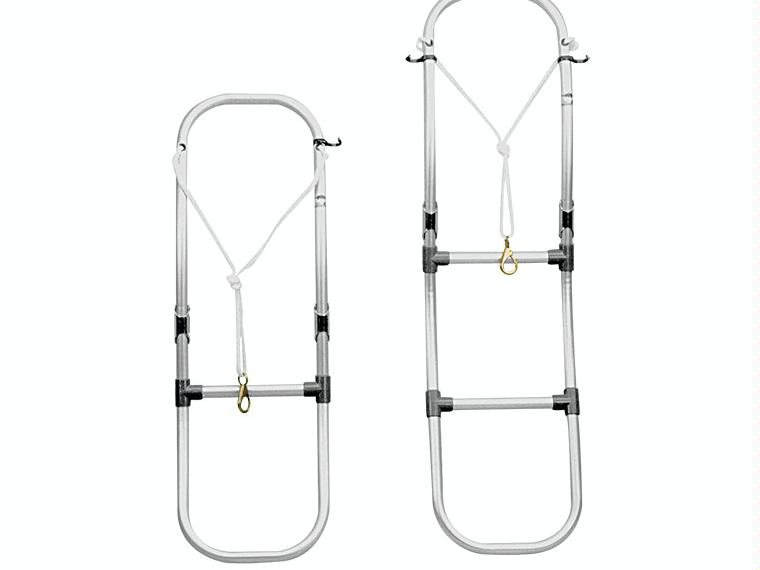 Escalera plegable de aluminio para embarcaciones for Escalera aluminio plegable