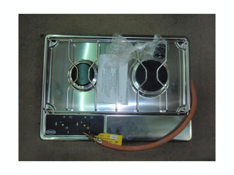 Cocina eno 2 fog gas empotrar 46x34cm outlet de segunda for Outlet cocinas a gas