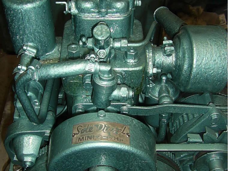 sole diesel mini 2 - 9 cv de segunda mano 66484