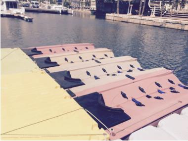 hidropedales, barcos a pedales, pedal boat, plataformas motos de agua Outros