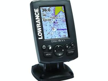 Chartplotter color Lowrance Elite-4m GPS/Plotter Electrónica