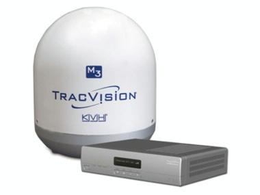 Antena de TV vía satélite marina KVH TracVision M3 Otros
