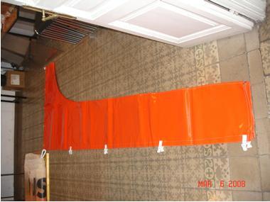 Funda para vela mayor naranja Velas/Toldos