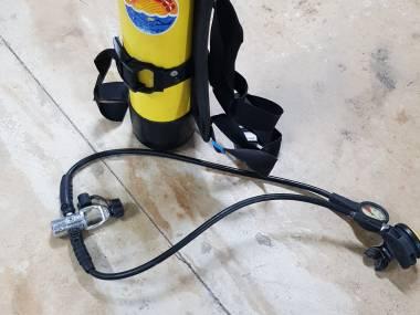 Botella 90 con regulador Submarinismo