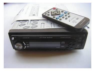 AV-AUDIO AV8840 radio-cd con USB y tarjeta MMC-SD Electrónica