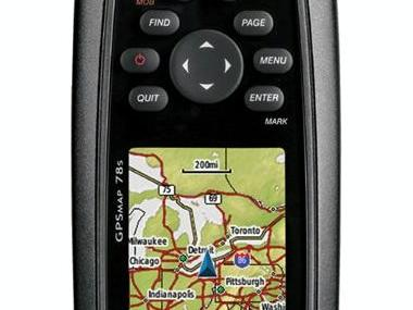 Garmin GPSMAP 78 S Electrónica