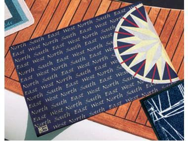 Alfombrilla de Entrada Rosewind 75 x 50 cm. Marine Business Confort a bordo