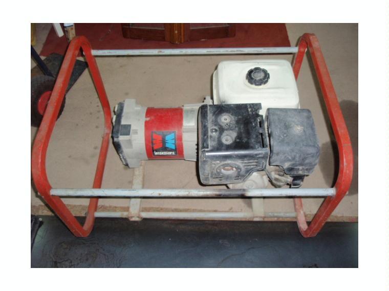 generador motor honda gx270 9cv alt 5 kw de segunda mano