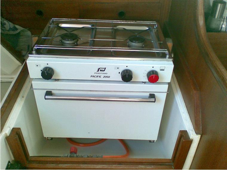 Cocina Gas Segunda Mano | Cocina Con Horno De Segunda Mano 69515 Cosas De Barcos