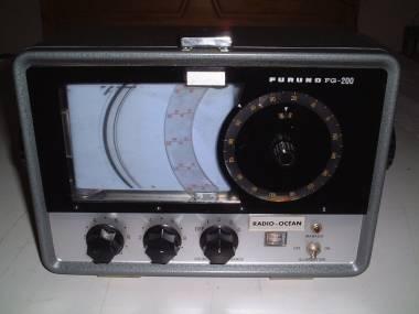 Ecosonda Marina Furuno FG 200 Echo Sounder RADIO OCEAN 1970 Navegação