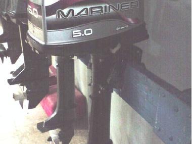 MOTOR MARINER 5CV EJE LARGO Motores