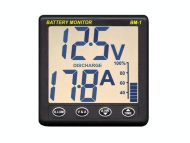 Instrumento medidor de consumos de batería Electrónica