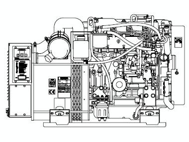 Kohler 23kw Motores