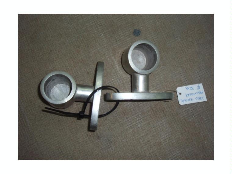 Terminal pasamanos aluminio pareja de segunda mano 56991 for Pasamanos de aluminio