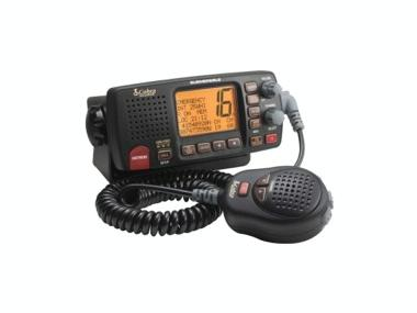 Emisora fija VHF marina marca Cobra, modelo F80B Electrónica