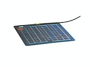 Cargador de batería solar, 34 Wp, 136 Wh/d, 12 V, 590x460x2 mm, 3,10 kg. Electricidad