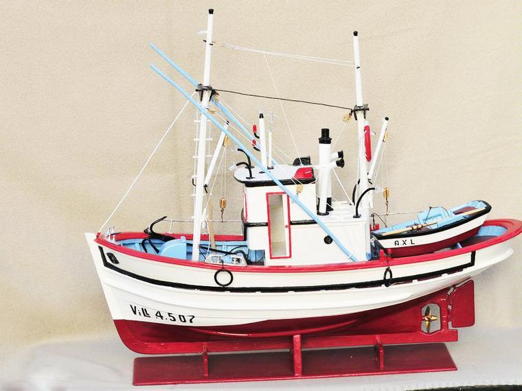 Maquetismo Naval Gallego De Barcos De Pesca Tradicionales