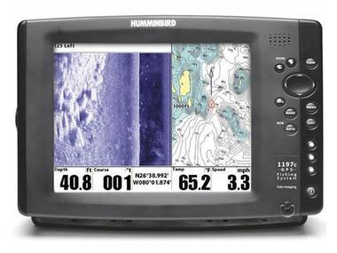 Sonda/GPS/Plotter  Humminbird 1198 CX SI combo Otros