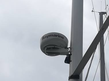 Antena radar raymarine Electrónica