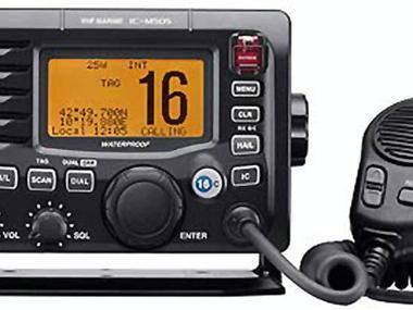 Emisora VHF IC-M505 DSC calse D opción repetidor, opc. Megaf. ICOM Electrónica