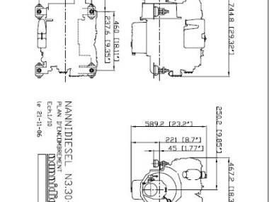 Motore N3.30  Nanni diesel Motores