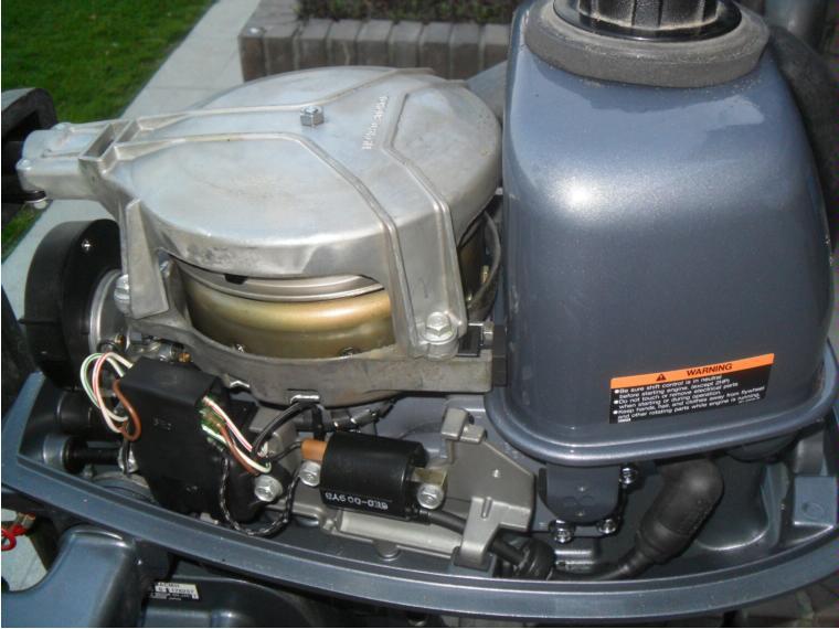 motor fueraborda yamaha 4 cv  2 tiempos