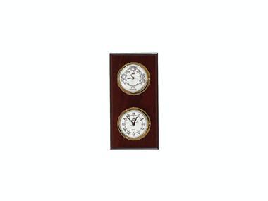 Reloj-Barometro Laton Pulido 3 Pulgadas Confort a bordo