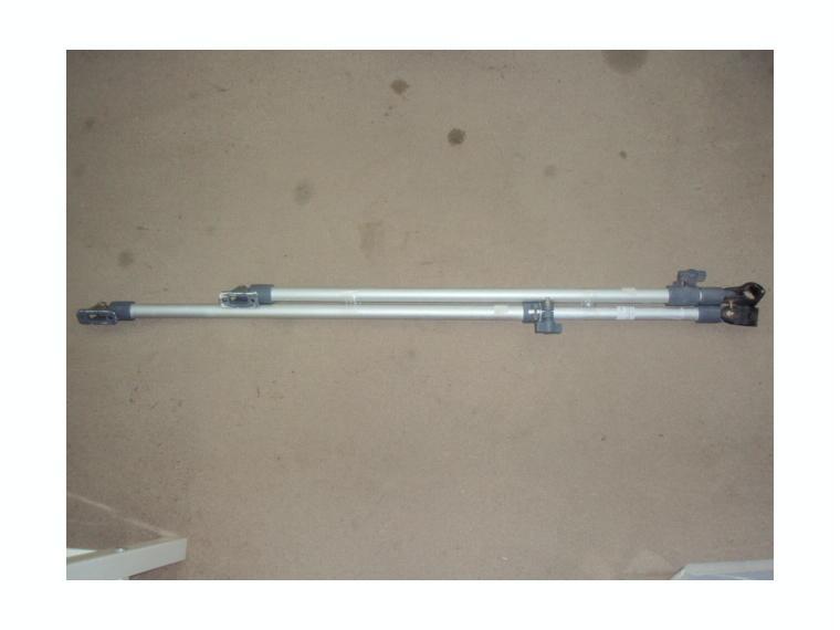 brazo extensible para toldo 75 120cm 2und de segunda